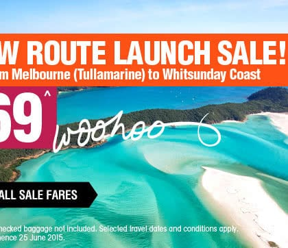 Whitsunday Coast Airport welcomes direct Melbourne flights