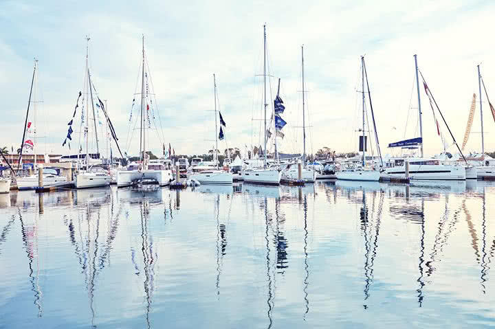 Join us for coffee and a catch up at the Sanctuary Cove International Boat Show