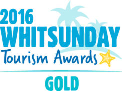 Gold Winner Major Tourism Attraction Whitsunday Tourism Awards