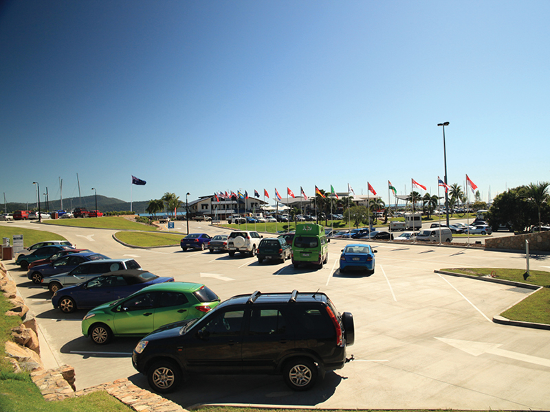 Coral Sea Marina Resort Car Park