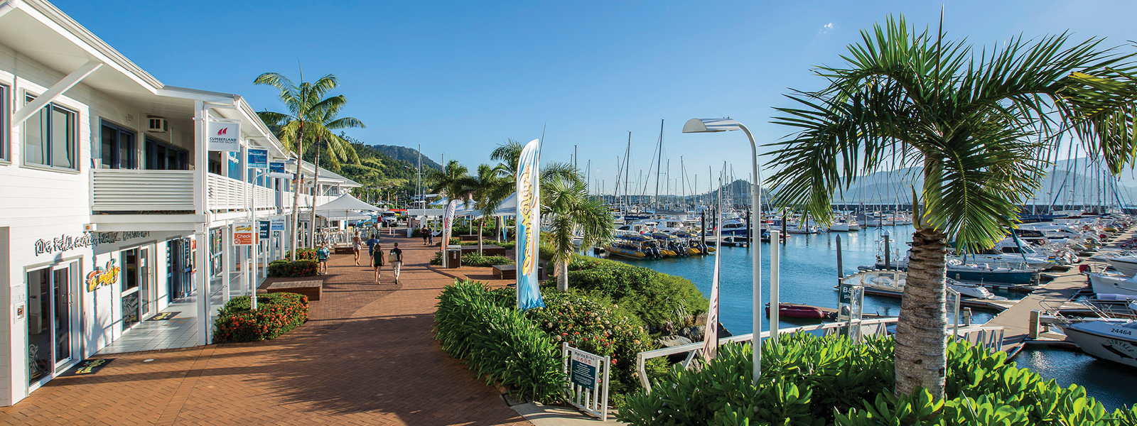 Relax in our vibrant marina village