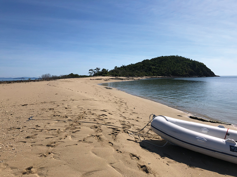 Langford Reef Sand Spit