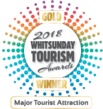 TW Awards Major Tourist Attraction - Gold Logo 2018