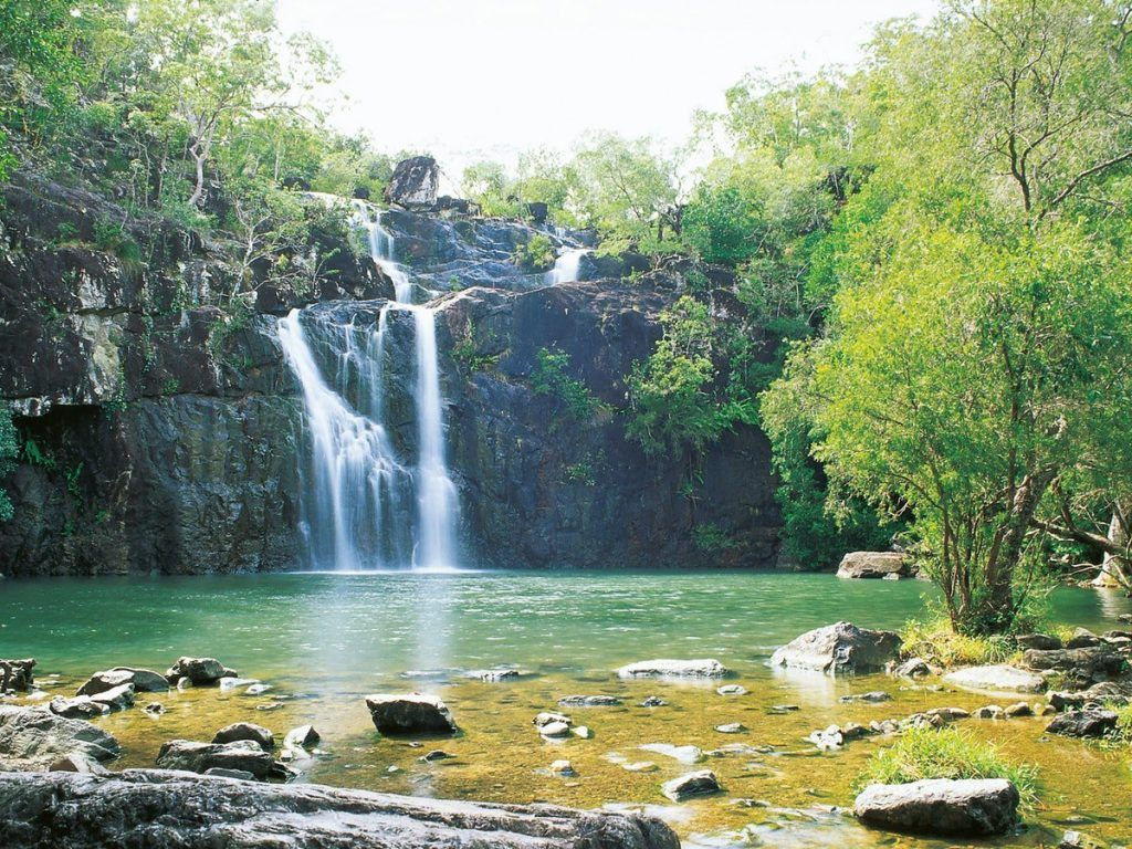 Cedar Creek waterfall whitsunday