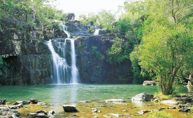 Cedar Creek waterfall whitsunday