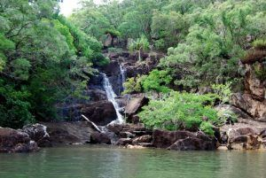 Nara Inlet Waterfall on hook Island