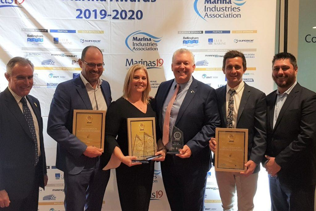 The winners of the Marina of the Year awards 2019