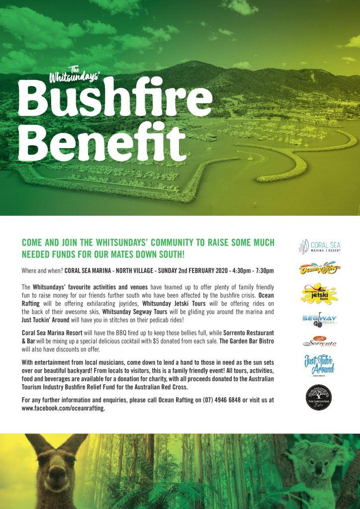 Whitsunday Bushfire Benefit