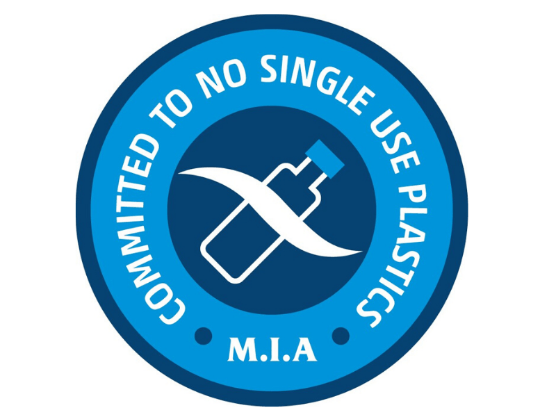 MIA Pledge for no single use plastics
