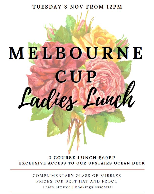 Melbourne Cup Ladies Lunch at Sorrento, Coral Sea Marina