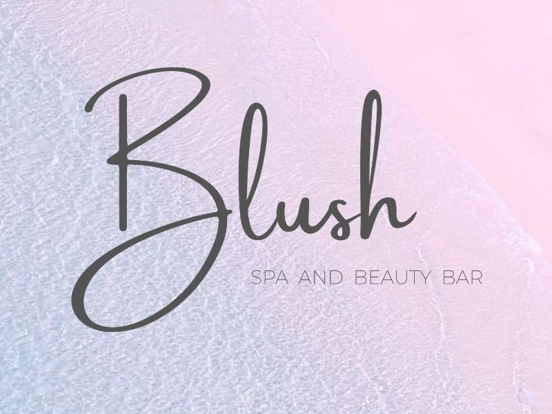 Blush Spa and Beauty Bar logo, based from Coral Sea Resort Hotel in the Whitsundays