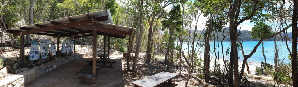 Tongue Point meeting area on Whitsunday Island