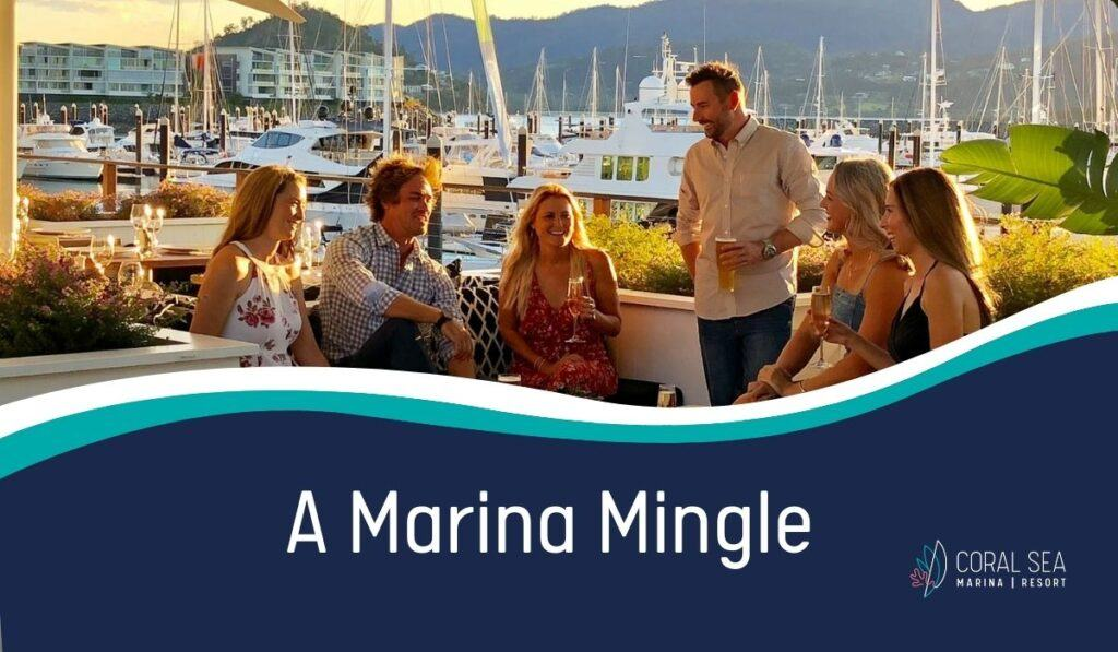 A Marina Mingle networking night promotional image