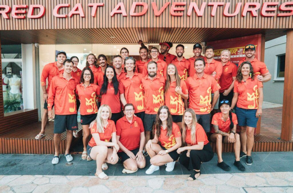 Red Cat Adventures staff and crew