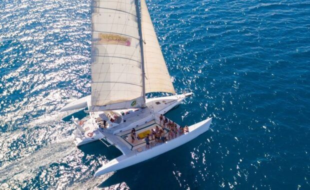 Sailing Trimaran