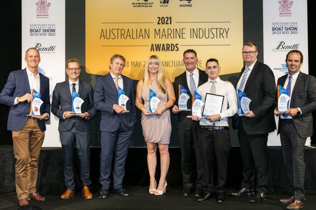 Winners of the ASMEX Australian Marine Industry Awards 2021