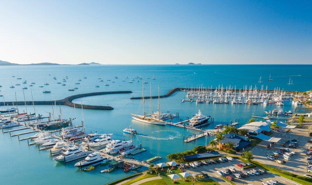 Superyacht Adix at Cora Sea Marina Resort