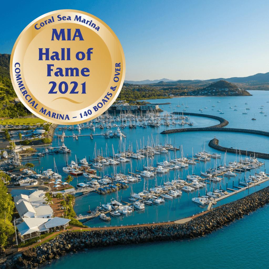 Coral Sea Marina Resort - Hall of Fame