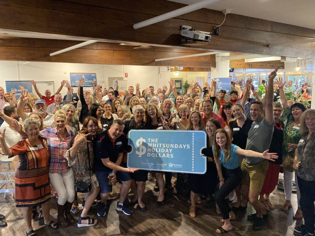 Tourism Operators in the Whitsunday Region in support of the Whitsunday Holiday Dollars
