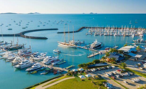 Aerial image of Coral Sea Marina