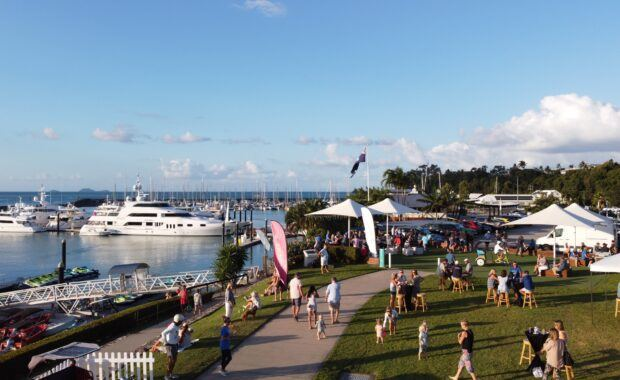 Big Aussie BBQ Fundraiser in support of the Prostate Cancer Foundation of Australia at Coral Sea Marina