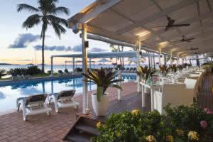 Coral Sea Resort, Airlie Beach.