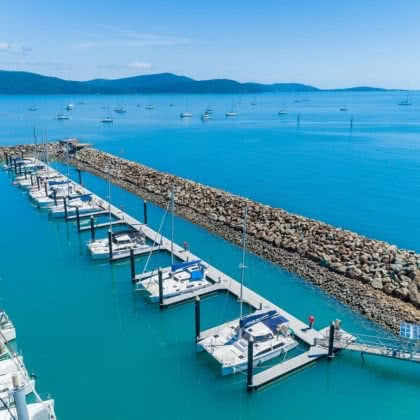 Abell Point Marina restoration on time, on budget!