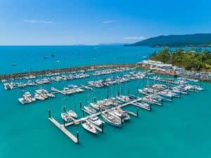 Abell Point Marina - north marina upgrades 2017