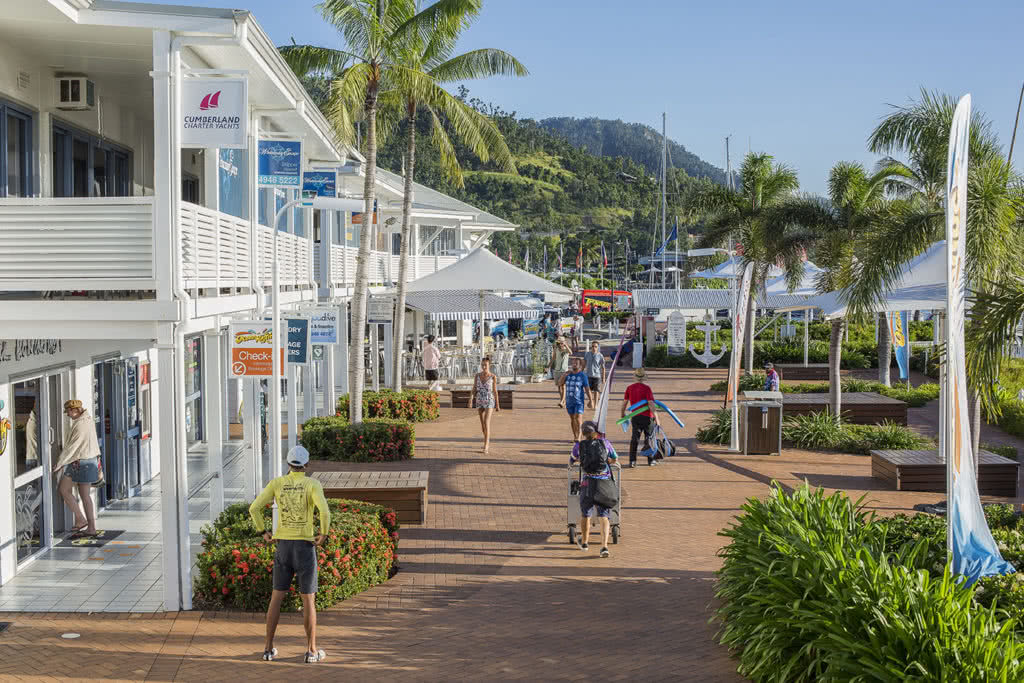 Abell Point Marina village businesses have committed to The Last Straw on GBR