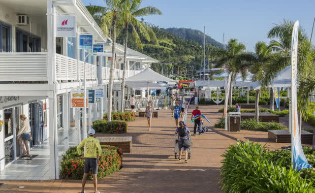 Coral Sea Marina Resort village businesses have committed to The Last Straw on GBR