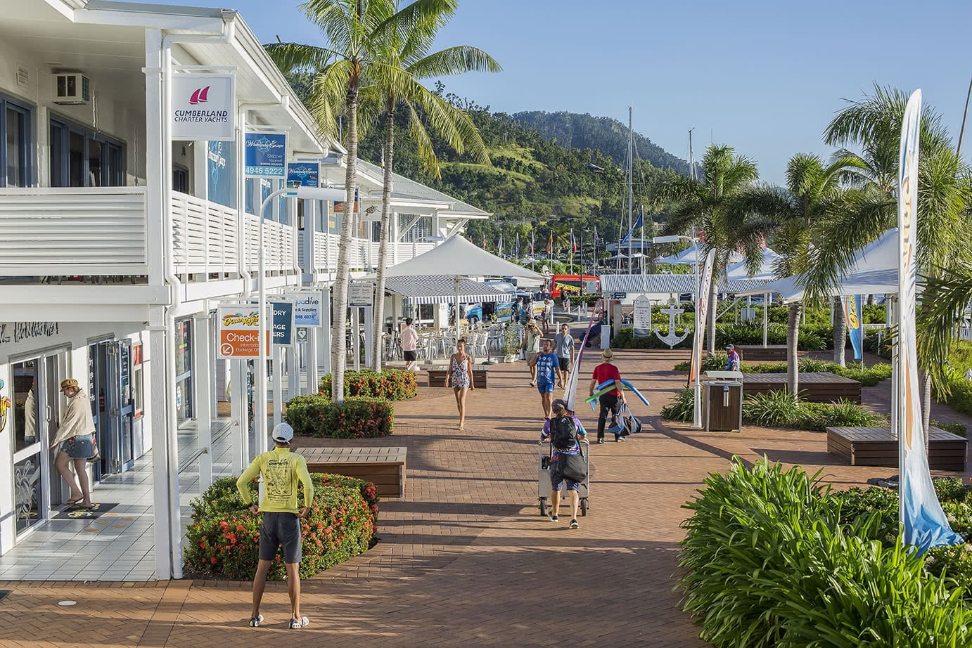 Abell Point Marina village joins The Last Straw Great Barrier Reef campaign.