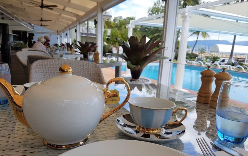 Afternoon Tea at Coral Sea