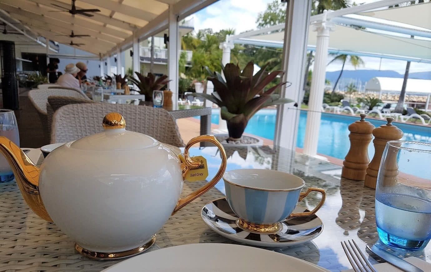 Stunning views and sumptuous afternoon tea!