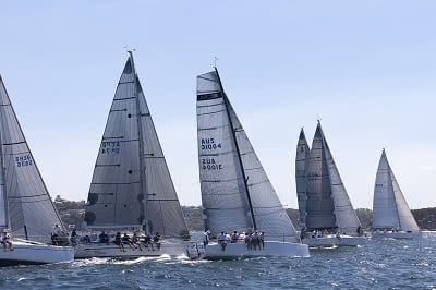 FLEET during the 2016 Sydney Harbour regatta, Sydney 05/03/2016 ph. Andrea Francolini