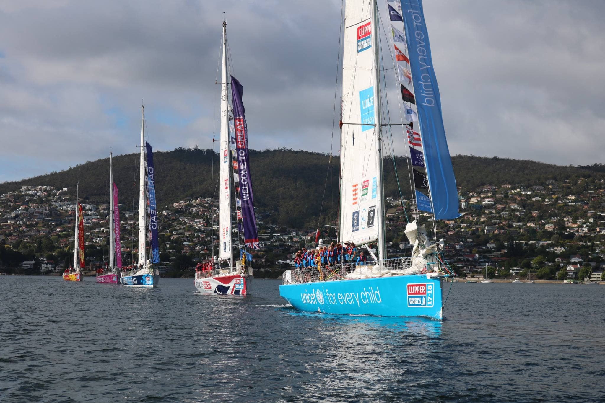 Clipper Race fleet to sail into Whitsundays in just one week's time!