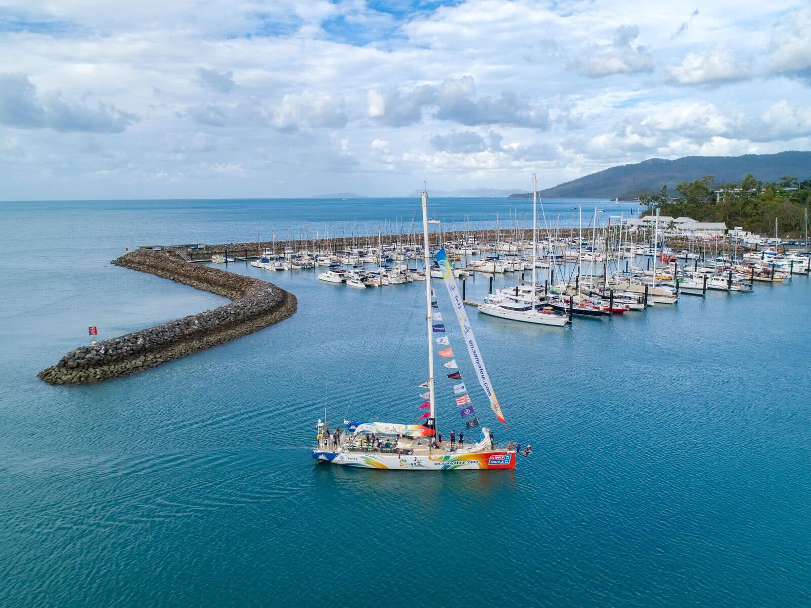 Clipper Race fleet arrives in Whitsundays!