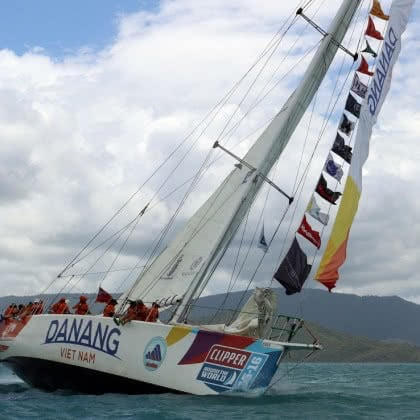 Clipper Round the World Yacht Race departs Airlie Beach for Da Nang, Vietnam