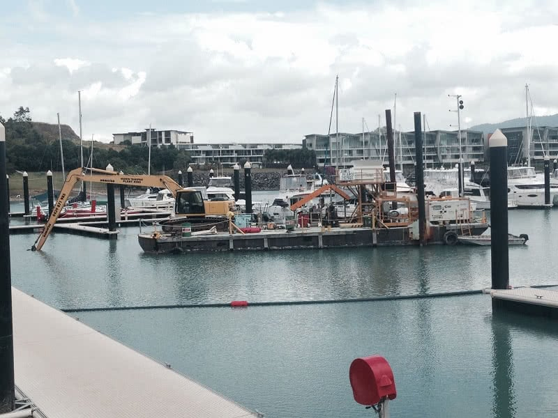 Dredging Project Commences