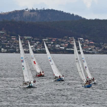 Airlie Beach next stop for Clipper Race fleet after successful Sydney Hobart campaign