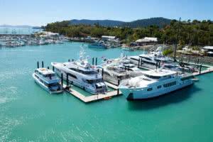 Superyacht Arm Abell Point Marina