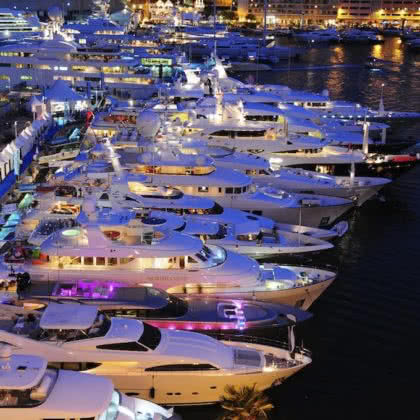 Superyacht Group Great Barrier Reef attend the Monaco Yacht Show 2017