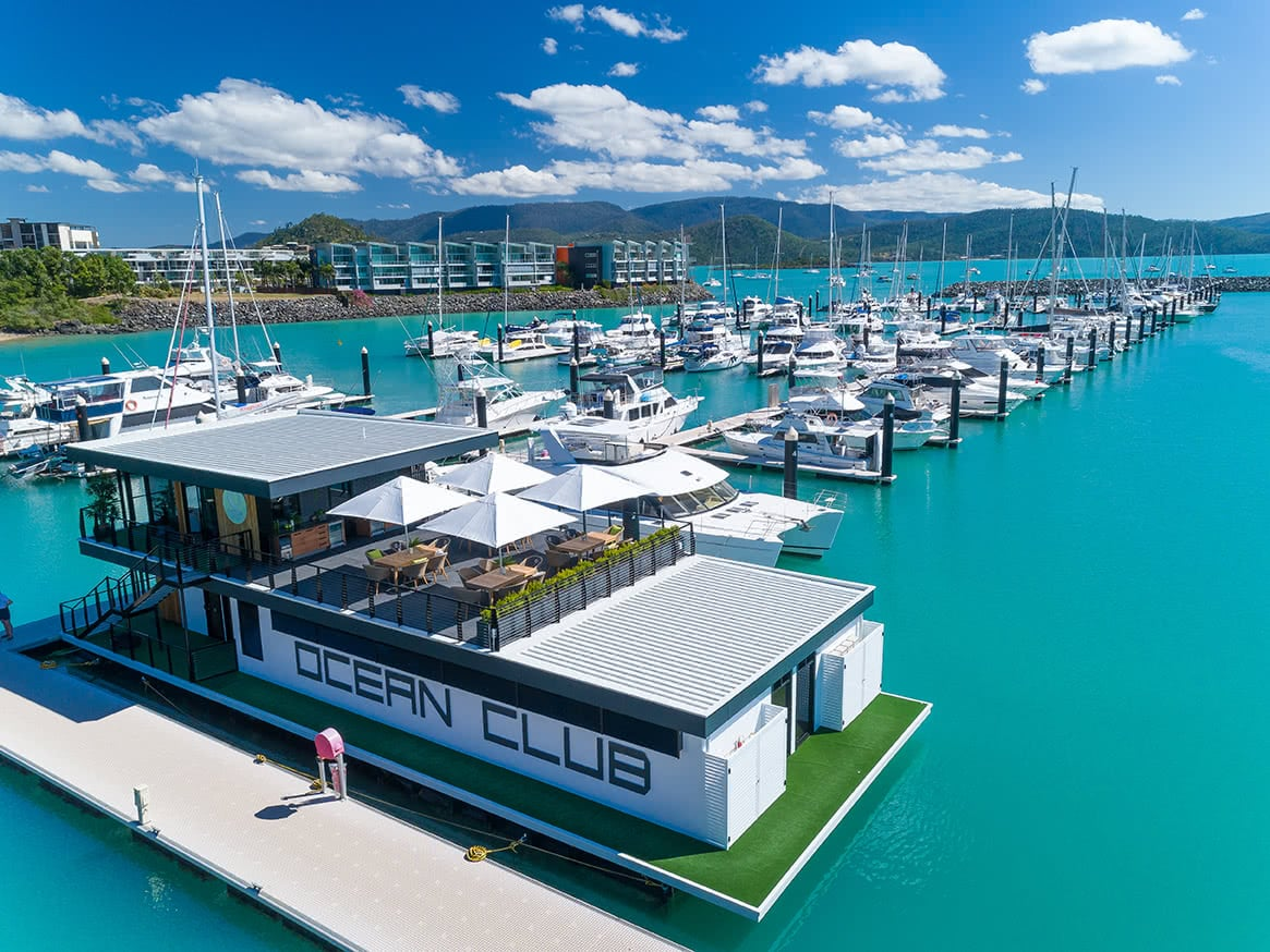 Ocean Club opens it's doors to private marina guests!