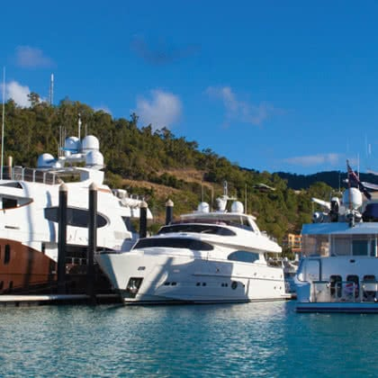 Superyacht Industry Provides Big Win for Australian Tourism