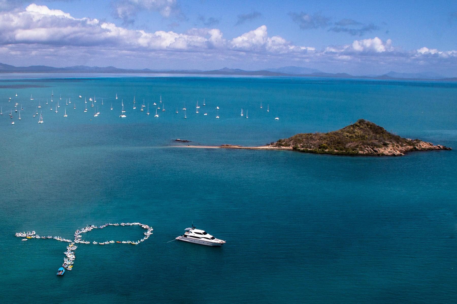 Shag Islet Cruising Yacht Club rendezvous 2016