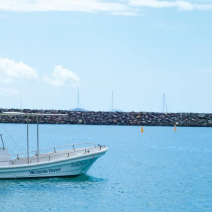 """Welcome'' says 5 Gold Anchor globally accredited marina Abell Point"