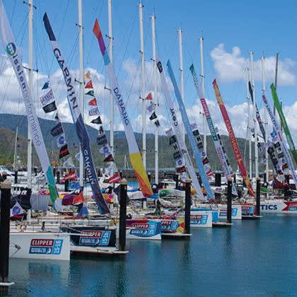 Whitsundays Completes All-Australian Clipper Leg