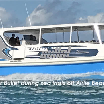 Operator News: Whitsunday Bullet joins the Explore Whitsundays portfolio