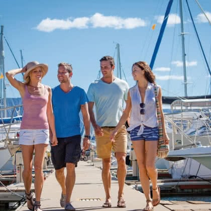 Stay, Play, Explore at Abell Point Marina this Easter